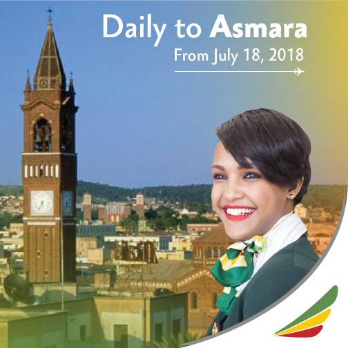 Ethiopian airlines to fly Asmara