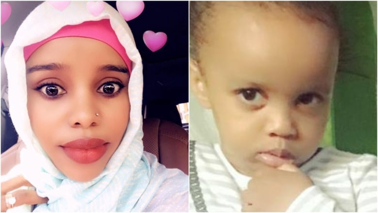 Amina Ibrahim Odowa, 33, and her five-year-old daughter Sofia Abdulkadir killed in the accident