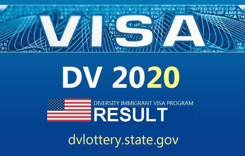 Dv lottery 2020 result