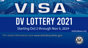 DV Lottery 2021 -Diversity Immigrant Visa Application Start October 2