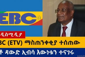 Ethiopia: የዕለቱ ዜናዎች Daily Ethiopian News -AddisMedia 08/01/20